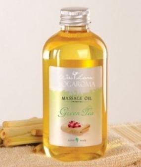 Wai Lana Yogaroma, Massage Oil, Green Tea