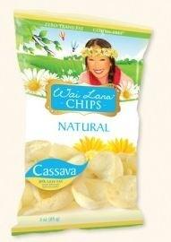 Wai Lana Snacks, Natural Chips (Case of 12)
