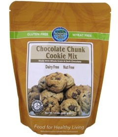 Authentic Foods Gluten Free Chocolate Chunk Cookie Mix, 1 lb 4 Ounces