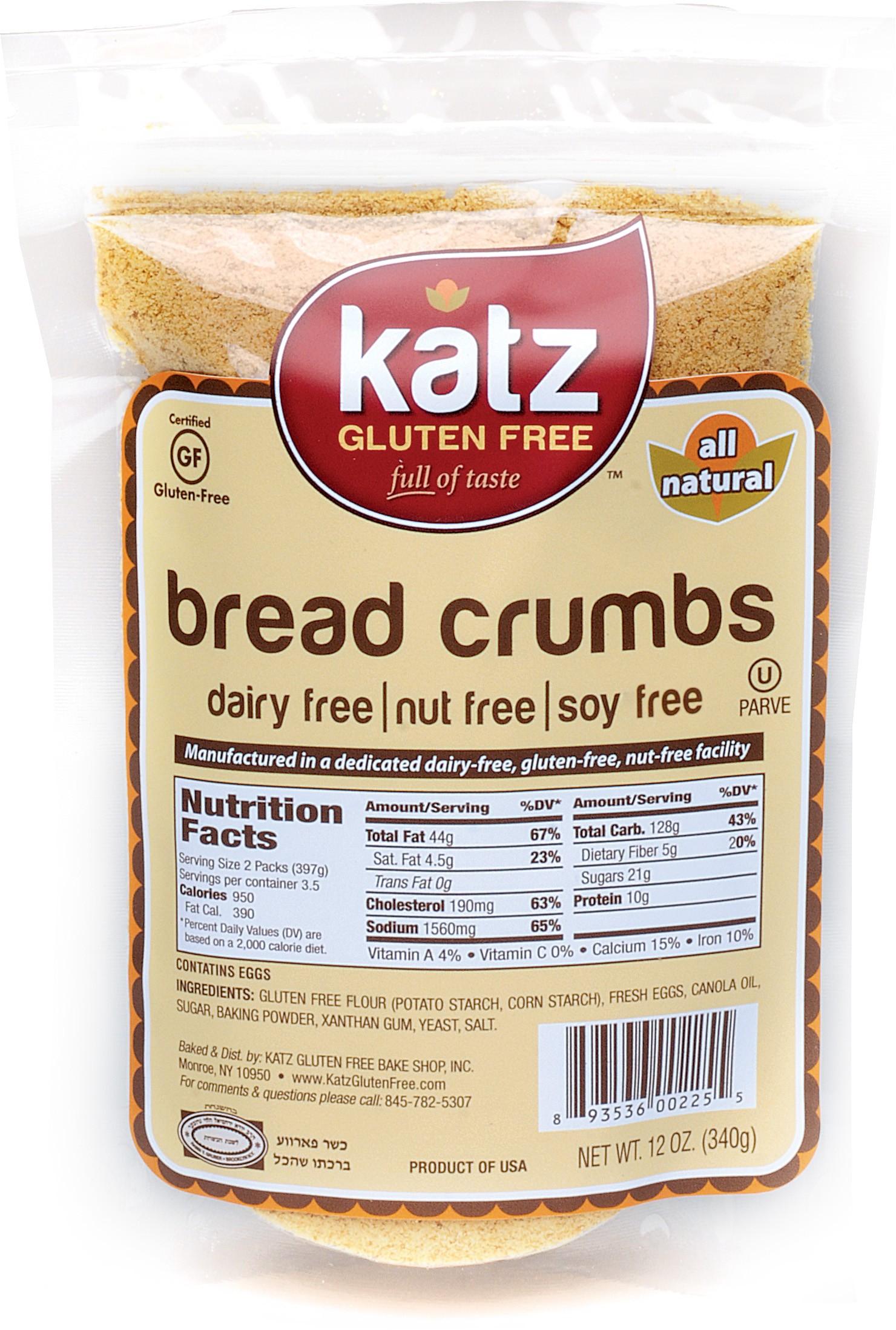 Katz Gluten Free Breadcrumbs