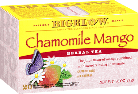 Bigelow Tea, Chamomile Mango Herb Tea