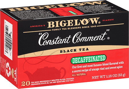 Bigelow Tea, Constant Comment, Decaf