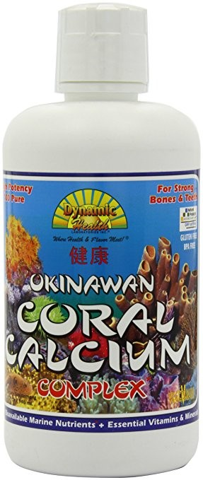 Dynamic Health Liquid Supplement, Coral Calcium Complex