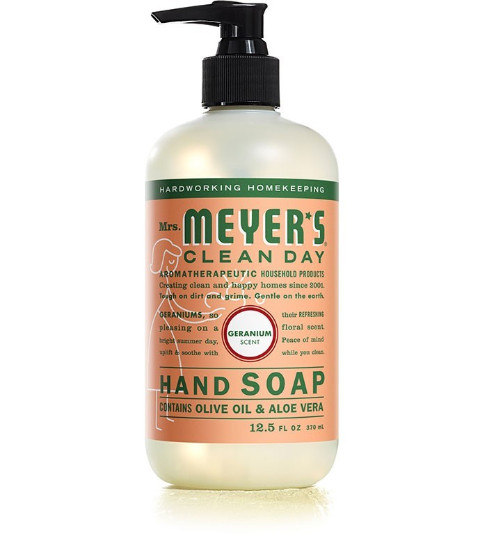 Mrs. Meyer's Clean Day Liquid Hand Soap, Geranium, 12.5 Oz