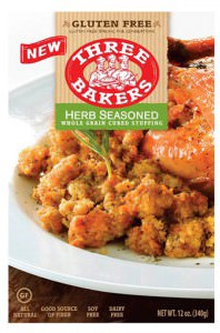 Three Bakers Gluten Free Stuffing Mix
