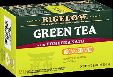 Bigelow Tea, Green Tea With Pomegranate, Decaf