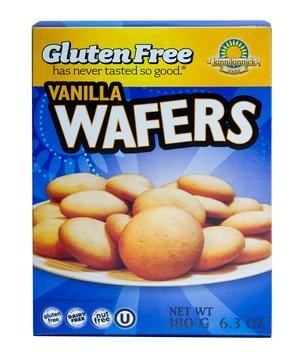 Kinnikinnick Gluten Free Vanilla Wafers, 6.3 oz [Case of 6]