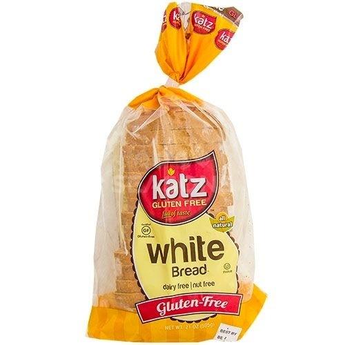 Katz Gluten Free White Bread - Case of 6