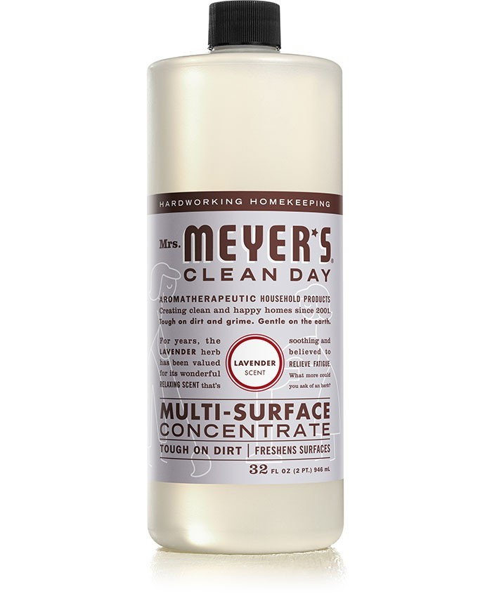 Mrs. Meyer's Clean Day Multi Surface Concentrate, Lavender, 32 Oz
