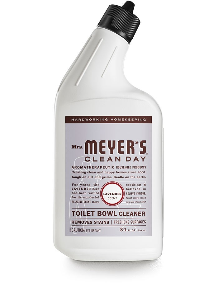 Mrs. Meyer's Clean Day Toilet Bowl Cleaner, Lavender, 24 Oz