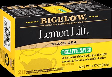 Bigelow Tea, Lemon Lift, Decaf