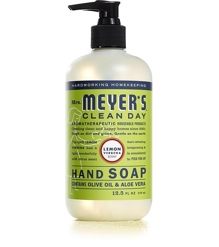 Mrs. Meyer's Clean Day Liquid Hand Soap, Lemon Verbena, 12.5 Oz