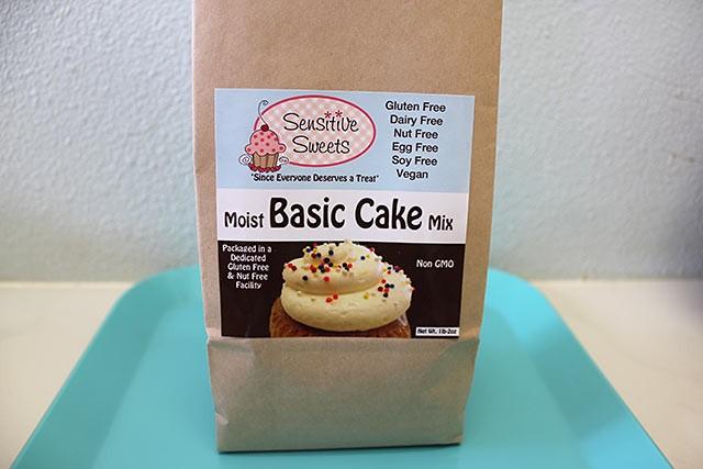 Vegan Basic Cake Mix