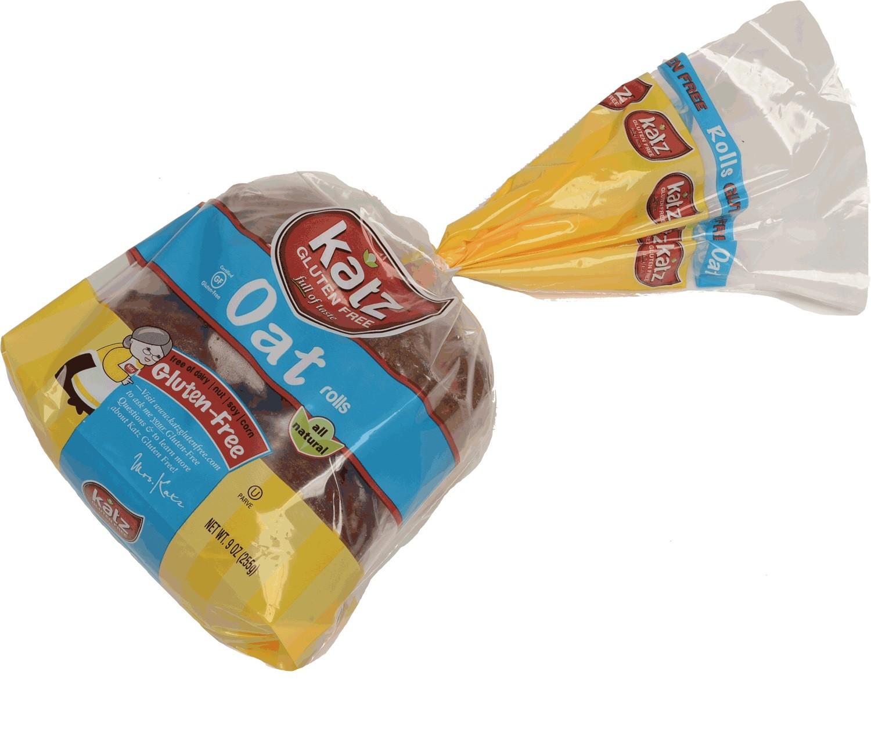 Katz Gluten Free Oat Challah Rolls