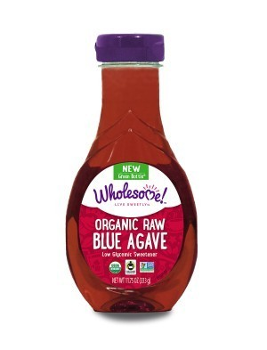 Wholesome Sweeteners Organic Raw Blue Agave Syrup