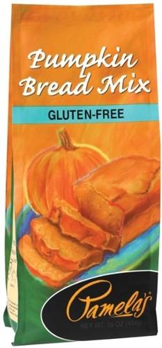 Pamela's Gluten Free Pumpkin Bread Mix, 16 Oz [6 Pack]