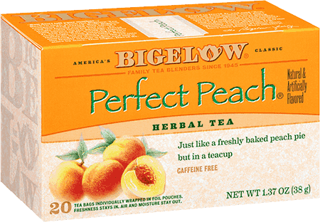 Bigelow Tea, Perfect Peach Herb Tea