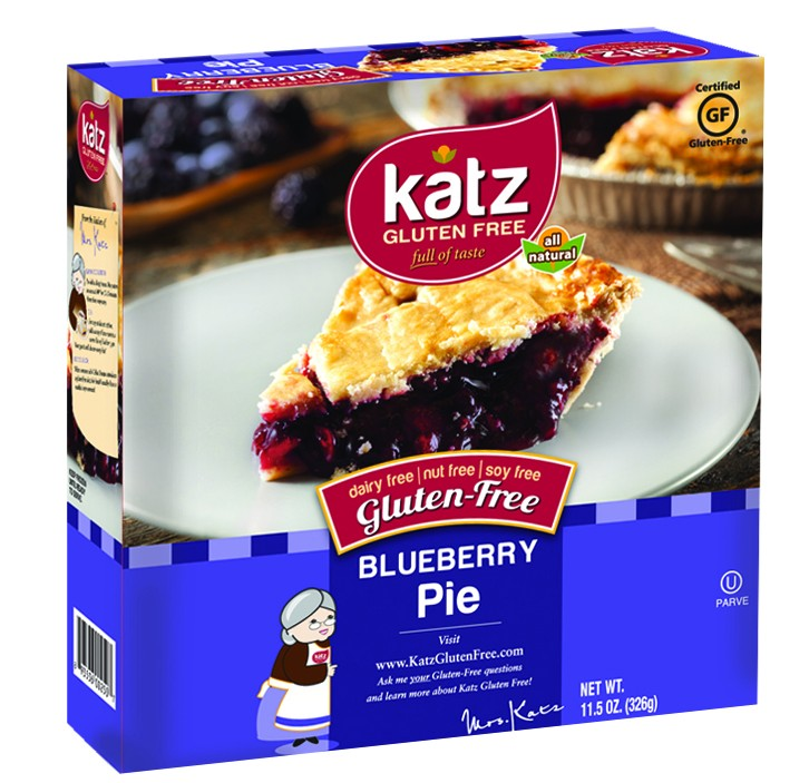 Katz Gluten Free Blueberry Pie