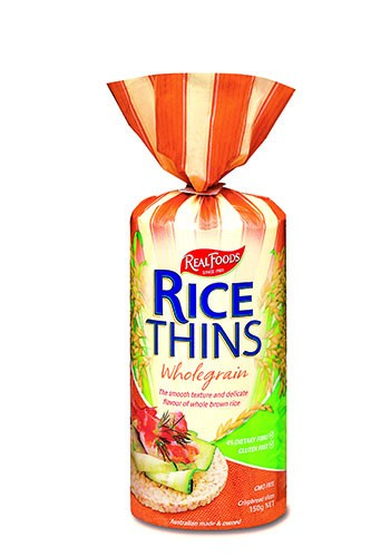 REAL FOODS RICE THINS