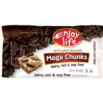Enjoy Life Gluten Free Mega Chocolate Chunks, 10 Oz Bag (Case of 12)
