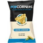 Gluten Free Popcorners, White Cheddar, Snack Bag (40 Bags)