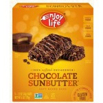 Enjoy Life Gluten Free Decadent Bars, Chocolate Sunbutter (6 Boxes per Case)