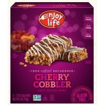 Enjoy Life Gluten Free Decadent Bars, Cherry Cobbler (6 Boxes per Case)