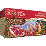 Celestial Seasonings Morrocan Pomegranate Rooibos Red Tea (6 Boxes)