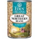Eden Gluten Free Organic Great Northern Beans, 15 Oz. Can (12 Pack)