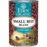 Eden Gluten Free Organic Small Red Beans, 15 Oz. Can (12 Pack)