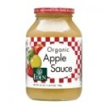 Eden Organic Gluten Free Apple Sauce, 25 Oz. (12 Pack)