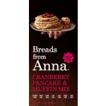 Breads From Anna Gluten Free Cranberry Pancake & Muffin Mix, 14 Oz (6 Pack)