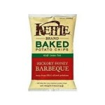 Kettle Foods Gluten Free Baked Potato Chips, Hickory Honey BBQ, 4 Oz (15 Pack)