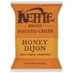 Kettle Foods Gluten Free Potato Chips, Honey Dijon, 5 Oz (15 Pack)