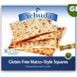 Yehudah Gluten Free Matzo Squares, 10.5 Oz