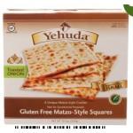 Yehuda Gluten Free Matzo Squares, Toasted Onion, 10.5 Oz