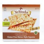 Yehudah Gluten Free Matzo Squares, Toasted Onion, 10.5 Oz (Case of 6)