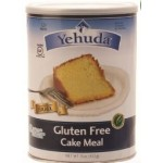 Yehudah Gluten Free Matzo Cake Meal, 15 Oz Canister (Case of 12)