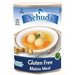 Yehudah Gluten Free Matzo Meal, 15 Oz Canister (Case of 12)