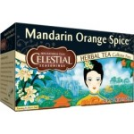 Celestial Seasonings Mandarin Orange Spice Herbal Tea (6 Boxes)