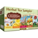 Celestial Seasonings Herbal Tea Sampler (6 Boxes)