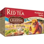 Celestial Seasonings Madagascar Vanilla Roobios Red Tea (6 Boxes)