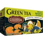 Celestial Seasonings Decaf Mandarin Orchard Green Tea (6 Boxes)