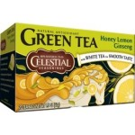 Celestial Seasonings Honey Lemon Ginseng Green Tea (6 Boxes)