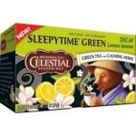 Celestial Seasonings Sleepytime Decaf Lemon Jasmine Green Tea (6 Boxes)