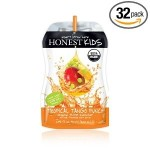 Honest Kids, Gluten Free Tropical Tango Punch, 6.75 Oz Pouch (Case of 32)