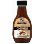 Wholesome Sweeteners, Gluten Free Organic Blue Agave Cinnamon Flavored Syrup, 11 Oz (6 Pack)
