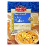 Arrowhead Mills Gluten Free Rice Flakes Sweetened Cereal, 12 Oz. Box (12 Boxes)