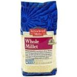 Arrowhead Mills Gluten Free Hulled Millet, 1 Lb. Bag (6 Bags)