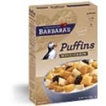 Barbara's Bakery Gluten Free Puffins Cereal, Multigrain, 10 Oz. (Case of 6)
